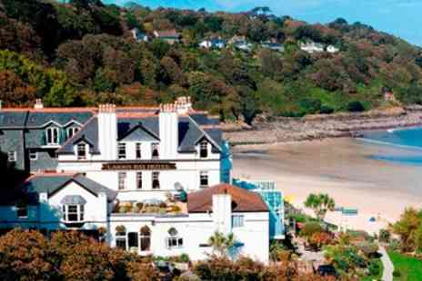 Carbis Bay Hotel - Overnight Fabulous Cornwall Beachfront Hotel with Meals & More - Save 49%