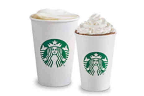 Starbucks - One Free Kids Hot Chocolate with Purchase of Any Espresso Beverage - Save 100%