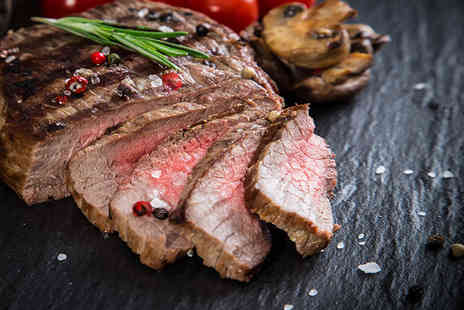 Best Restaurant - Steak and chips meal for Two - Save 59%