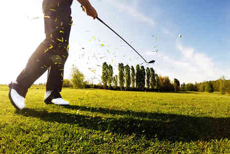 Malkins Bank Golf Club - 18 holes of golf, 40 balls and use of the driving range for two - Save 50%