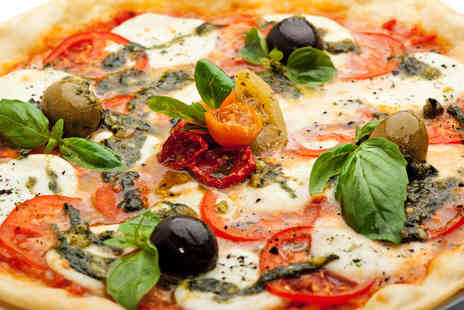 Cool Beans Cafe Bar - Sourdough Pizza or Pasta Meal for Two with a Glass of Wine Each - Save 57%