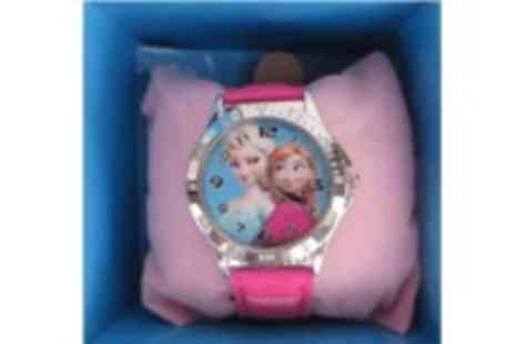 Fabshopper - Girls Frozen inspired watch  - Save 56%
