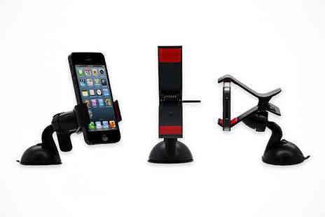 Car Smartphone Holde -  One 360 Car Smartphone Holder - Save 78%