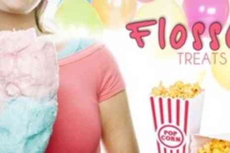 Flossy Treats - Popcorn and Candy Floss Machine Hire - Save 65%