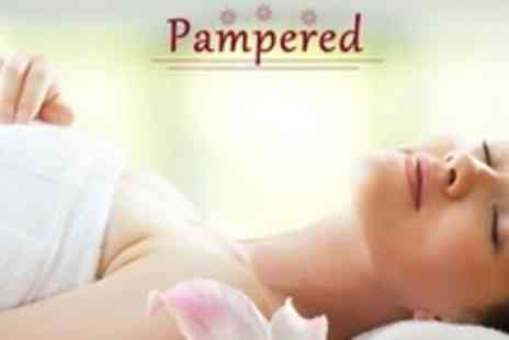 Pampered - Back, Neck, and Shoulder Massage Plus Facial and Eyebrow Shape - Save 62%
