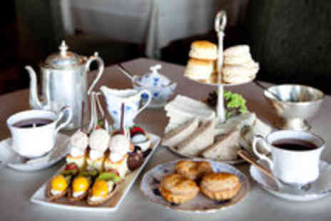 Rose N Crown Chophouse - Delicate Afternoon Tea with a Glass of Champagne for Two  - Save 50%