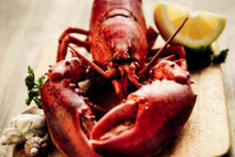 Fishers Restaurant - Delectable Lobster Dining with Prosecco for Two  - Save 64%