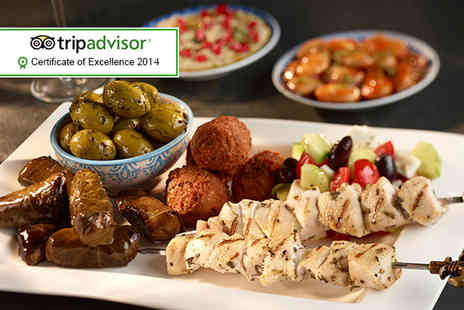 Istanbul Barbecue - Eight mezze dishes to share between two - Save 57%