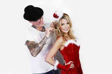 Adee Phelan - Christmas Makeover Photoshoot With Print  - Save 97%