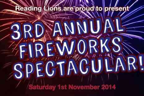 Lions Club Reading - Entry For One at Reading Lions Club Fireworks  - Save 17%