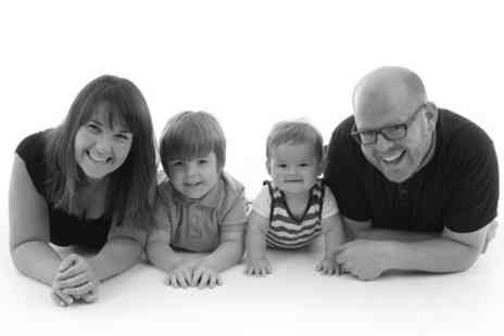 Studio 1 Photography - Family Photoshoot With Ten Photo Christmas Cards - Save 0%