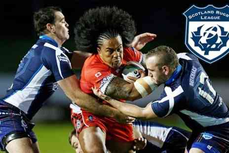 Rugby League - International Rugby Ticket For Scotland v France - Save 33%