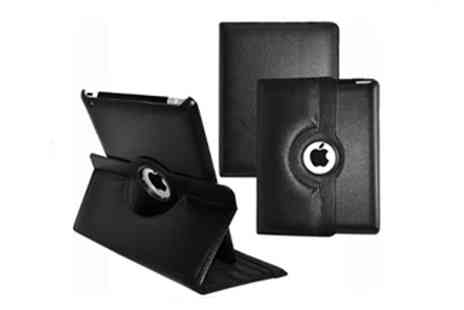 Genee Wenee - 360 Rotating PU Leather Stand Case for iPad 2 or 3 - Save 77%