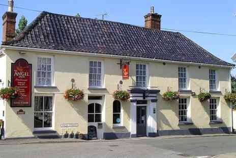 The Angel Inn - Two Night Stay For Two With Breakfast  - Save 54%