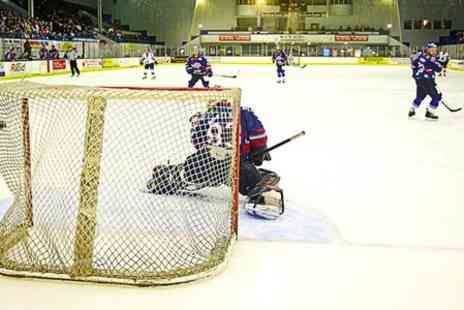 Edinburgh Capitals - Edinburgh Capitals Hockey Match For One - Save 47%