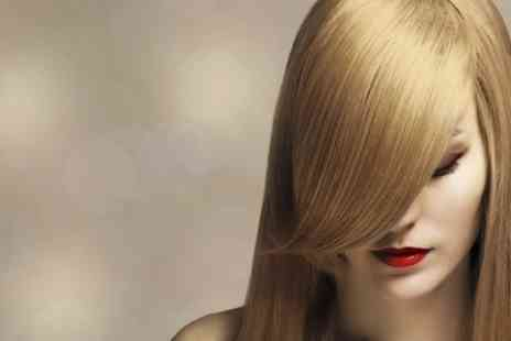 Elegance Hair and Beauty - Cut and Blow Dry With Condition  Plus Highlights  - Save 0%