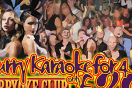 Curry Karaoke - Going for a song Curry Karaoke for four people - Save 70%