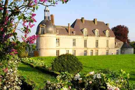 Chateau d Etoges - One Night Stay For Two  Plus One Dinner - Save 0%