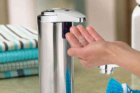 Bazaared - One Sensor Soap Dispensers - Save 86%