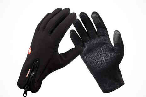 E Smart Shop - Water Resistant Outdoor Gloves for Touchscreens  - Save 77%