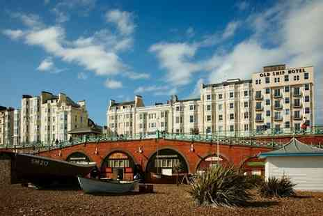 The Old Ship Hotel - A seafront stay just a stones skim from Brighton pier, with half board and optional afternoon tea - Save 38%