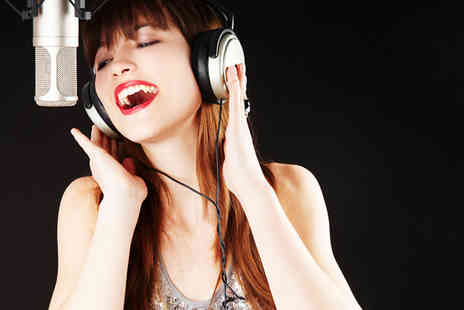 Kreative Music - One hour recording party package for up to 5 including a glass of bubbly each  - Save 74%