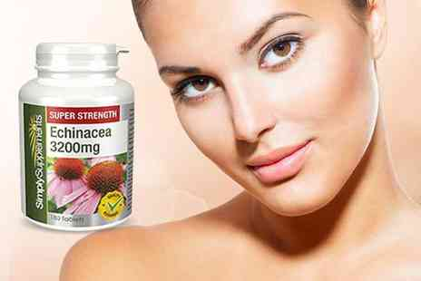 Pinnacle Health  - Supply of 240 echinacea supplements  - Save 64%