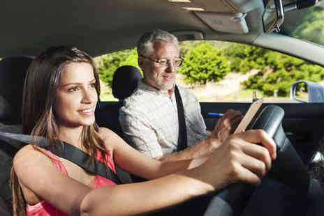 Pass With Us - Four Driving Lessons - Save 88%