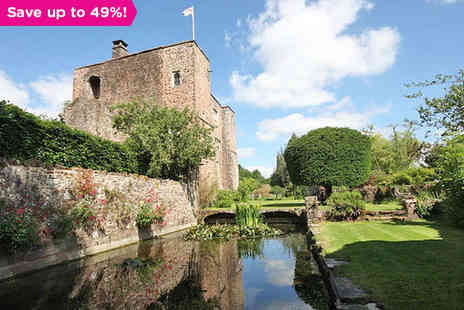 Bickleigh Castle - Fairytale Escape to Historical Devon Castle Amidst Romantic Landscapes - Save 49%