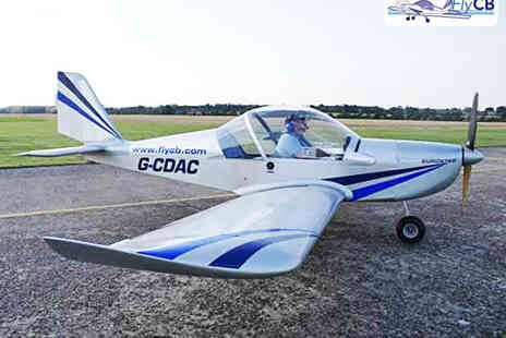 Fly CB - Microlight Flying Experience with 30 Minutes of Flight Time - Save 50%