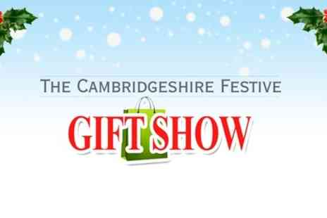 Aztec Events - Entry to Cambridgeshire Festive Gift and Food Show  - Save 50%
