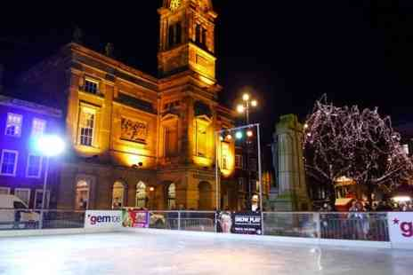 Derby Christmas Ice Rink - Ice Skating Session For Two - Save 54%