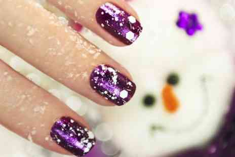 Drama Queen Beauty - Luxury Manicure or Pedicure Plus Acrylic Nail Extensions  - Save 64%