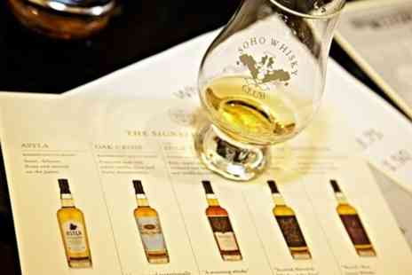 Soho Whisky Club - Whisky Tasting With Five Drams and Taste Pairings  - Save 0%