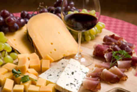 Culture & Cure - Choice of Artisan Cheese and Charcuterie Sharing Boards with Wine - Save 47%