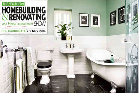 The Homebuilding & Renovating Show - Two tickets to The Northern Homebuilding & Renovating and Home Improvement show - Save 50%