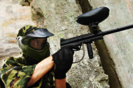 Urban Paintball - Two hours of indoor paintballing for two people, with 100 balls per person - Save 85%