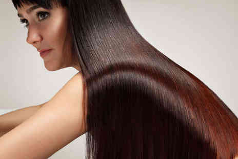 Code Hair & Beauty - Haircut, Blow Dry, and Moroccan Oil Treatment - Save 50%