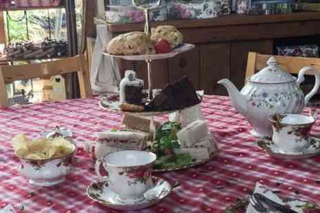 The Old Barn Tearooms - Festive Afternoon Tea For Two  - Save 50%