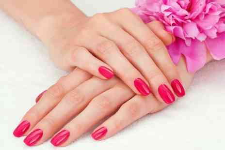 Sunshine Tanning Nails - Shellac Manicure or Pedicure  - Save 55%