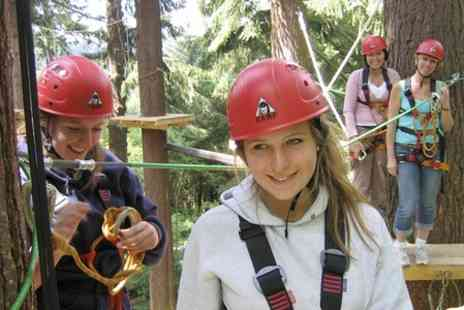 Get Wet The Adventure Company - Entry to High Ropes Course  - Save 60%