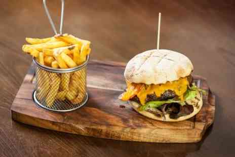 The Hole - Burger and Chips For Two - Save 56%