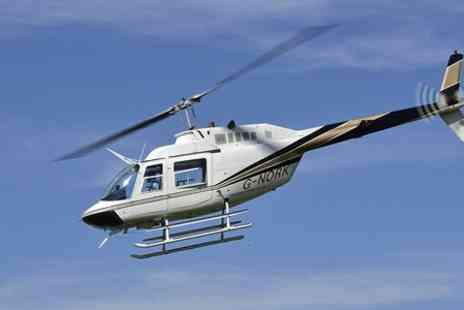 Helicentre Aviation - Helicopter Buzz Flight For One - Save 52%