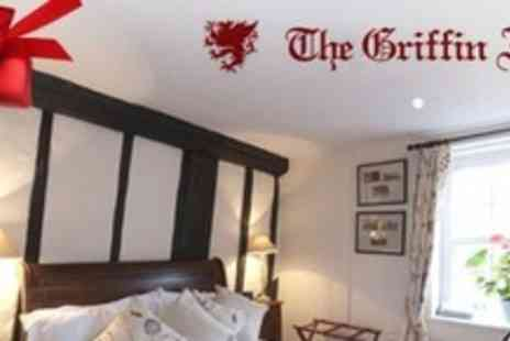 The Griffin Inn - One Night Stay For Two With Breakfast Each Morning - Save 59%
