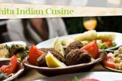Ruchita Indian Cuisine - Two Course Indian Meal For Two With Sides and Liqueur Coffee - Save 73%