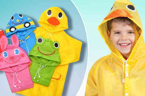 My Avarice - Childrens Cartoon Rain Coat - Save 67%