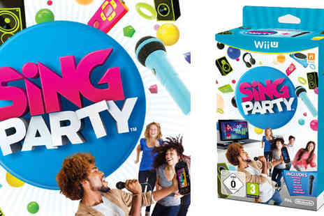 Click For Games - SiNG Party Wii U - Save 38%