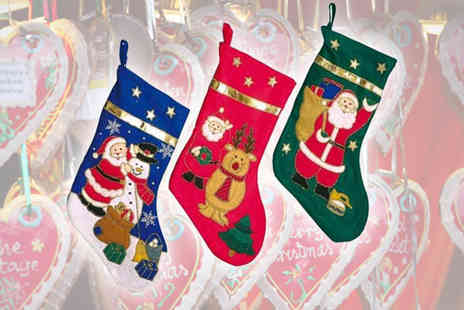 Sterling Distribution - Two Christmas Stockings - Save 69%