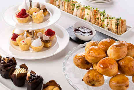 The Fitzwilliam Hotel - Afternoon Tea for Two with a Glass of Bubbly Each - Save 0%