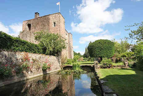 Bickleigh Castle - One Night Stay for Two with Continental Breakfast and Guided Castle Tour - Save 49%